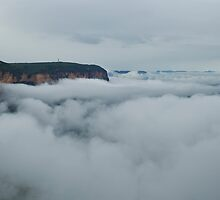 Morning Mist Rising by Colin12