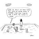 jesus on water by Loui  Jover