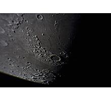 Plato, Montes Alpes & Vallis Alpes Photographic Print