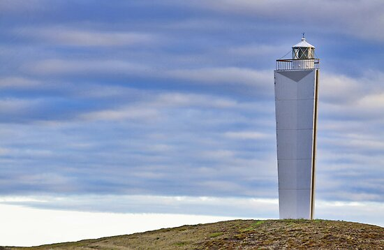 Lighthouse at Cape Jervis by Stephen Mitchell