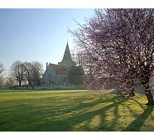 Early Spring Morning in Alfriston Photographic Print