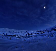 Winter's night in Swaledale by Guy Carpenter