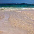 Receding Wave, Rose Island, Bahamas by Shane Pinder