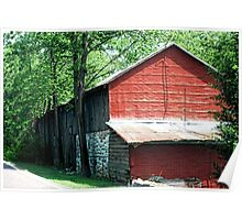 Not Just An Old Barn Poster