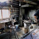 The Blacksmith's Shop by Al Bourassa