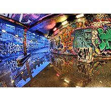 Graffiti Art Reflected Photographic Print