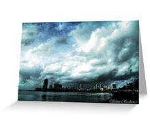 Monsoon Melancholy & Savage Skies Greeting Card