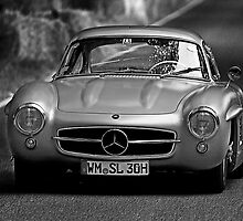 Mercedes-Benz 300 SL 1955 by Uwe Rothuysen