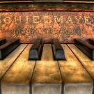 Schiedmayer Piano - HDR by Scott Sheehan