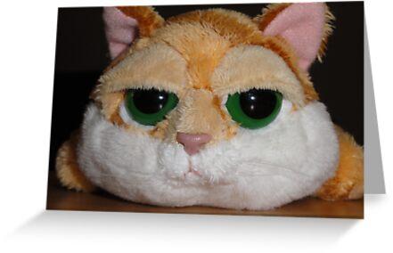 Cynical Garfield by Al Bourassa