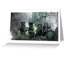 Lego Weird War rdv Greeting Card