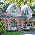 GingerBread Houses, Oak Bluffs,  by AnnDixon