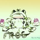 Little Frog Sits by Patricia Anne McCarty-Tamayo