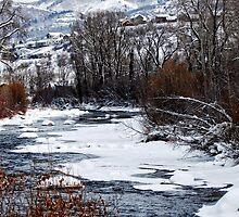 Winter Stream by barnsis