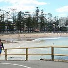 Manly foreshore by Maggie Hegarty