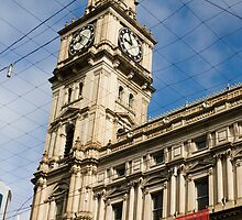 The Old Post Office Building, Bourke Street ,Melbourne by Pauline Tims