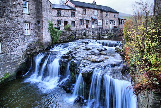 Gayle Beck ~ Hawes, The Dales by Sandra Cockayne