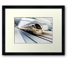 Gautrain - High Speed Commuter Train Framed Print