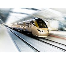 Gautrain - High Speed Commuter Train Photographic Print