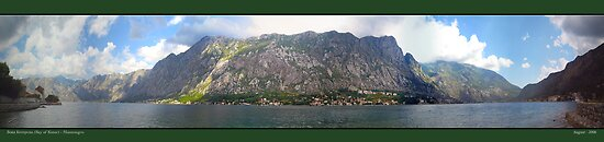 Bay of Kotor - Montenegro by newshamwest