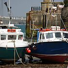 Newquay Harbour - Cornwall - UK by Ruth Durose