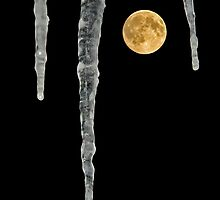 Icy Moon by Jeff  Galbraith