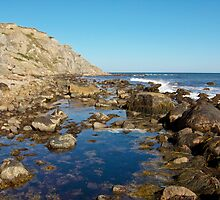 Lighthouse Cove Tidal Pool - Block Island by Stephen Cross Photography