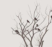 crows as usual by Nikolay Semyonov