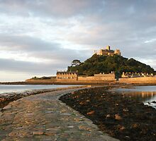 St Michaels Mount Cornwall by Cliff Williams