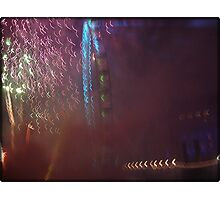 Amazing London - New year's Day Fireworks - 1st - 2011 - UK Photographic Print