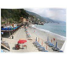 Cinque Terra - Monterosso Beach Poster