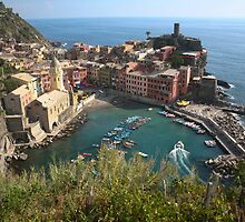 Cinque Terra - Vernazza by Stephen Cross Photography