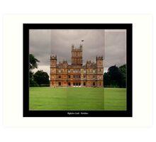 Highclere Castle - Newbury, Berkshire Art Print