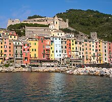 Portovenere - Waterfront by Stephen Cross Photography