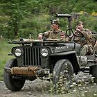 Patrol Jeep by David Hintze