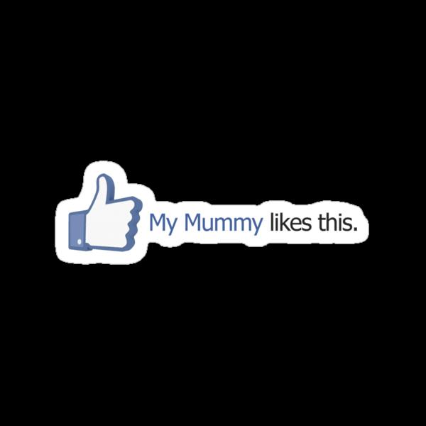 Facebook - My Mummy Likes This by Ryan Devenish