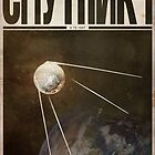 Cosmonaut - Sputnik 1 by JustinVG