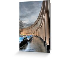 Crescent portico Greeting Card