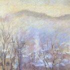 Misty morning in Karlovy Vary, Chech republic by Julia Lesnichy