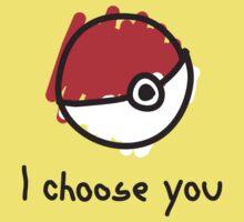 I choose you Kids Clothes