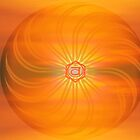 Sacral Chakra ~ Orange ~ Svadisthana ~ Female by Julia Harwood