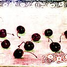 cherries and lace, or disarray by olga  hutsul