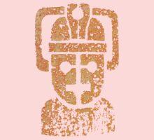 Rusting Cyberman Logo Kids Clothes