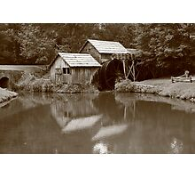 Mabry Mill - Blue Ridge Mountains Photographic Print