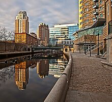 Canal View - Providence, RI by Stephen Cross Photography