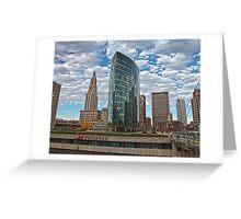 Phoenix Plaza - Hartford, CT Greeting Card
