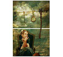 Rapunzel Dreams Photographic Print