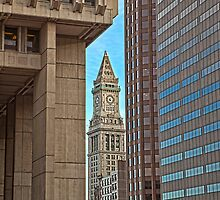Customs House Tower - Boston, MA by Stephen Cross Photography