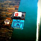 Soho invader graffiti by mooose
