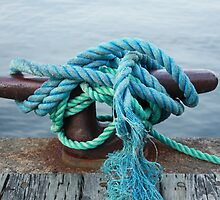 Boat mooring - Halifax  by stewartcher